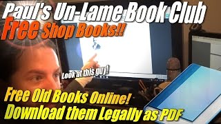 Free Shop Books to Download Online!  (and lots of other books)