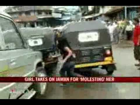 Public beating of Captain Jaswant Singh of Indian Military for Molesting a Girl.(Warning Graphic)