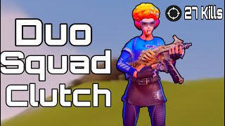 Duo Squad Clutch// Pro Lobby and TryHards Player// Creative Destruction