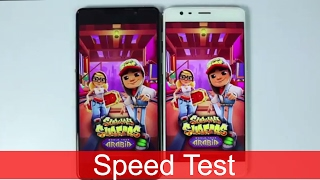Oneplus 3T vs Lenovo P2 Speed Test