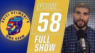 Daniel Cormier, Demetrious Johnson, Darren Till | Ariel Helwani's MMA Show [Episode 58 – 8/12/2019]
