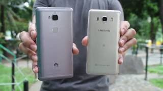 Huawei GR5 (5X) vs Galaxy J5 2016 Comparison, Camera Review