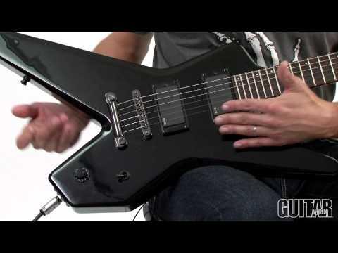 Godin Redline Series Nemesis Guitar - Features