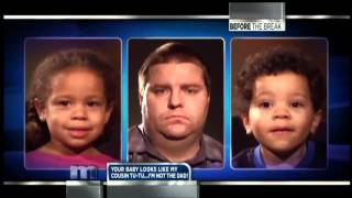 Maury: White parents black kids DNA TEST **FUNNY!**