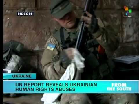 UN report cites human rights violations in Ukraine