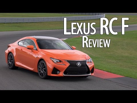 Lexus RC-F is no IS-F - CCSR Version also in the works