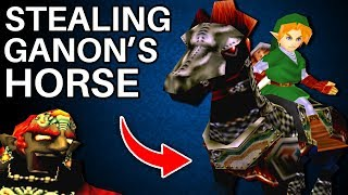 The Mystery of Obtaining Ganondorf's Horse in Ocarina of Time (Zelda)