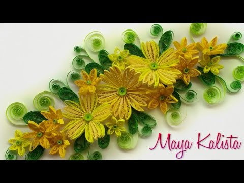 DIY Crafts: How to make DIY paper quilling frames - latest handmade ...