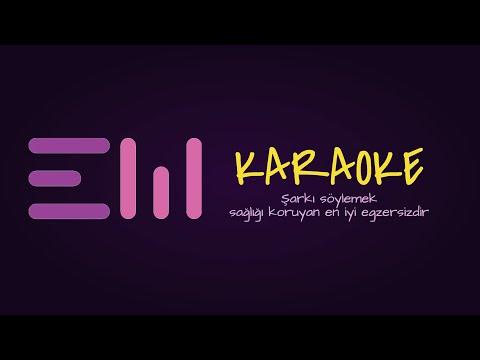 SEN GELMEZ OLDUN karaoke