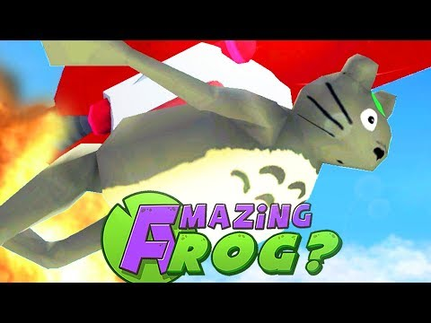 NEW CHARACTER BREAKS FLYING RECORD - Amazing Frog - Part 119   Pungence