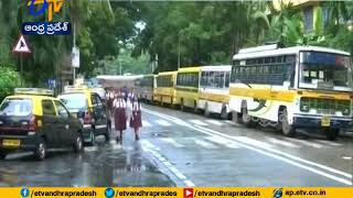 Nation wide transport strike | students suffer as school buses remain off duty in Mumbai