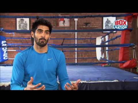 Vijender Singh discusses his upcoming homecoming fight v Kerry Hope