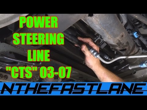 Power Steering Hose Replacement: (Cadillac CTS 03-07)