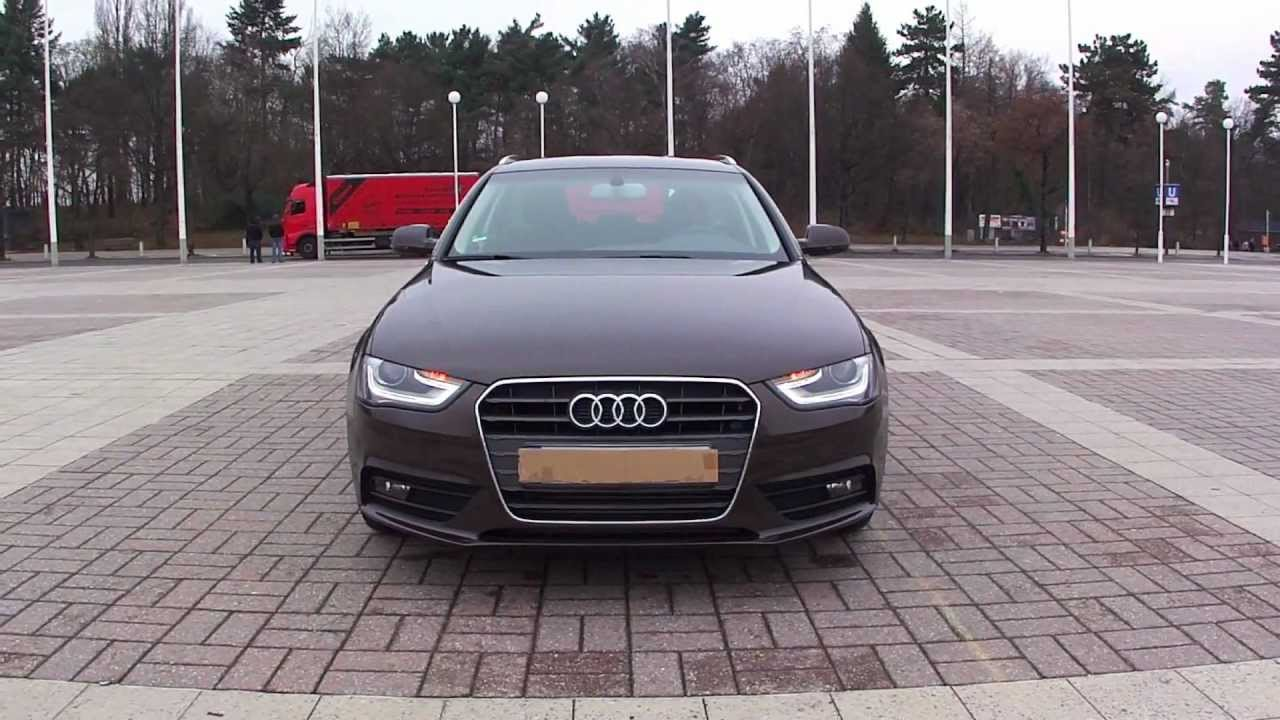 2012 Audi A4 Avant Facelift Walkaround Youtube