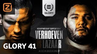 Ziggo Sport | Rico Verhoeven | Ismael Lazaar | Glory 41 Holland | Full Fight