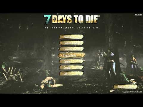 Как сделать чтобы 7 days to die не вылетала