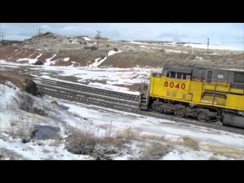I made a trip to Tie Siding, WY to railfan Union Pacific's main line between Cheyenne, WY and Laramie, WY. Despite the fact that it was in the 70s in Colorad...