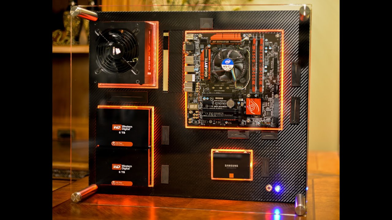 How To Build A Wall Mounted Pc