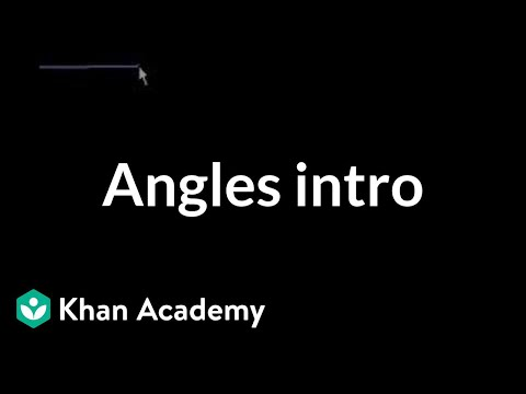 Introduction to angles (old)