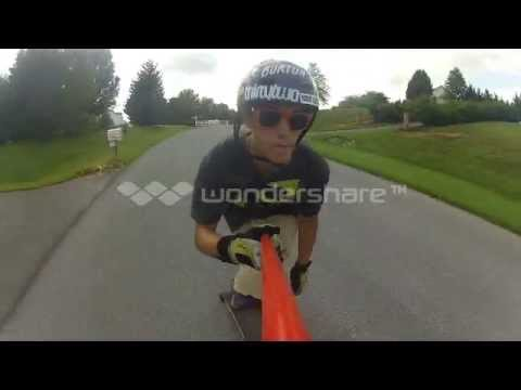 Downhill Longboard Edit