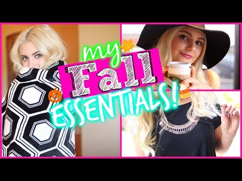 Fall Essentials: Food, Fashion, Music & More! | Aspyn Ovard