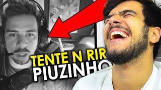 TENTE NÃO RIR FREE FIRE #7!! VERSÃO ESPECIAL PIUZINHO