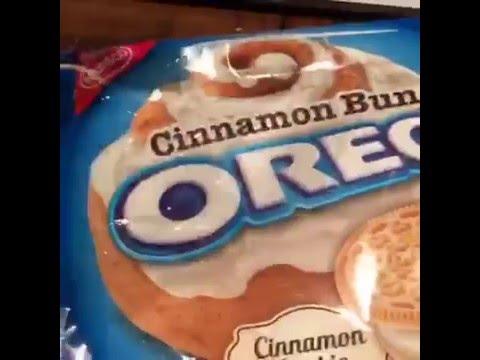 15 Second Reviews: Cinnamon Bun Oreos
