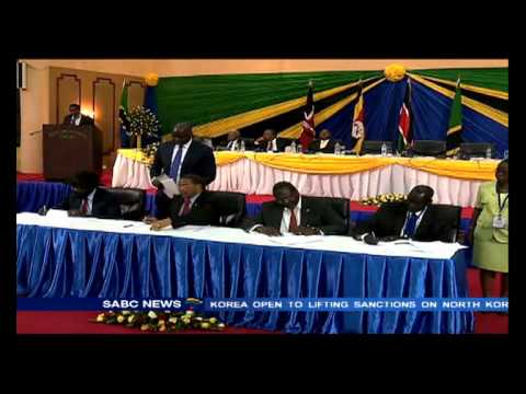 Salva Kiir expected to sign a peace deal with rebels: Sarah Kimani reports