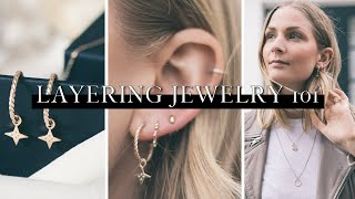 Styling & layering jewelry 101 | Ethical jewellery