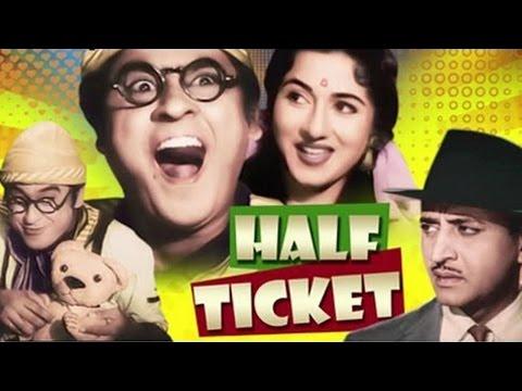 Half Ticket | Full Movie Review | Kishore Kumar Madhubala Pran...