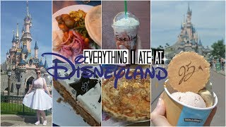 EVERYTHING I ATE AT DISNEYLAND PARIS - WHAT TO EAT /♥/ June 2017 /♥/ fleur_charms