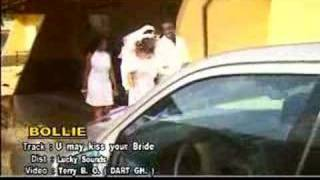 You may kiss the bride - Bollie