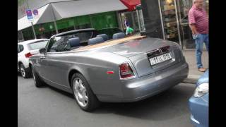 Rolls Royce Phantom Drophead Coupé start up,driving, pictures!!!