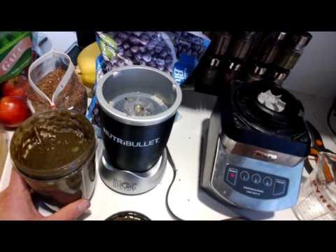 The Nutribullet vs. the Ninja Blender
