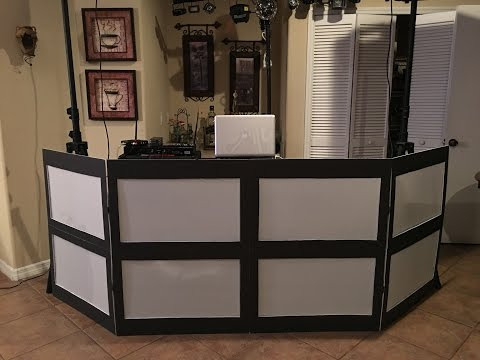 DJ Booth Facade Under $20 - Do It Yourself - DIY