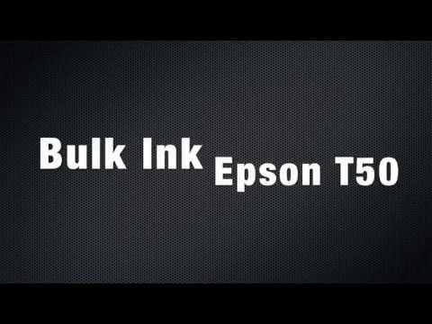 Instalação Bulk Ink e Dispenser Epson T50 / R290 / R280 - SULINK