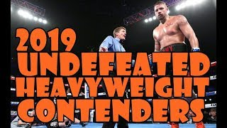 UNDEFEATED  Heavy Hitters Of Heavyweight  2019