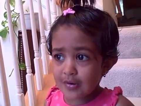 Aashna Singing Basic Rhymes video