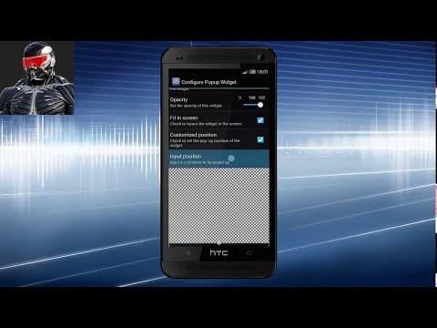 Crear Reproductor de musica con Popup widget y Zooper widget
