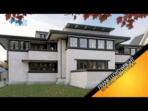 Frank Lloyd Wright | Oak Park | Chicago | WhereTV