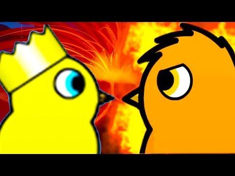 УТИНЫЙ КОРОЛЬ И ОГНЕННАЯ ПТИЧКА! ФИНАЛ! - Duck Life 4 - #6