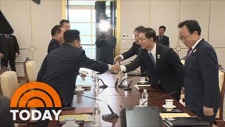 North And South Korea Unite For Winter Olympics Games Amid Tense Nuclear Standoff   TODAY