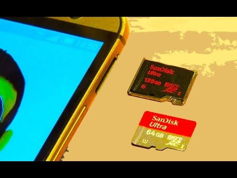 HTC ONE M8 Install / Format Micro SD Card 128GB?