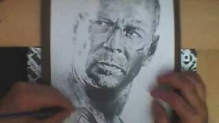 Bruce Willis - Speed Drawing