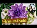 CROCHE FLORES 042 REPOLHUDA 1 - PARTE 1