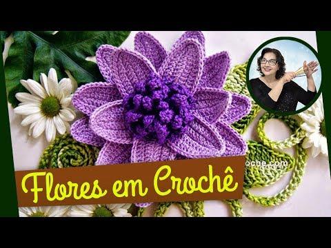 CROCHE FLORES 042 REPOLHUDA 1 — PARTE 1