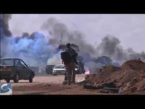Airstrike aftermath in Libya (March 20 footage)