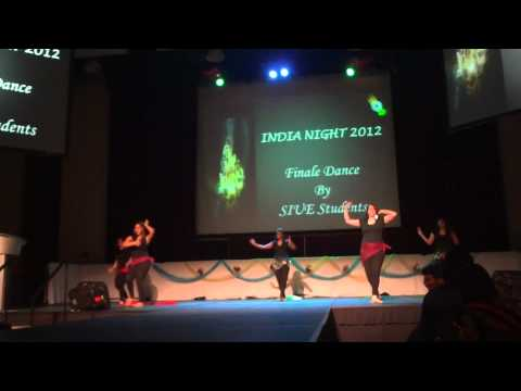 Siue India Nite 2012-finale Dance (belly Dance & Kangna Tera Ni) video