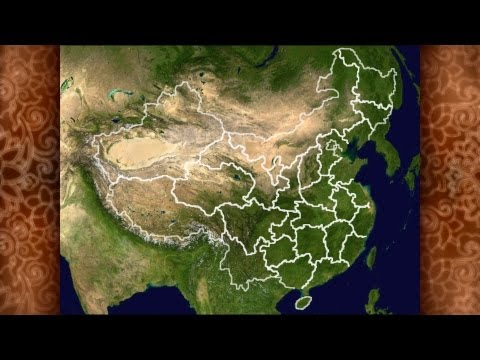 China's Political Geography - Provinces, Regions etc... In Chinese