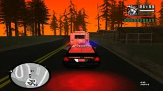 [HD]GTA SA SAPD FR v2.5 patrol day 4 patrolin with CHP Cruiser